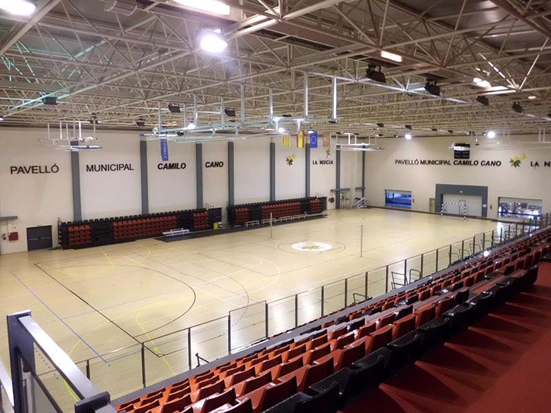 Club voleibol la nuc a for Piscina municipal camilo cano